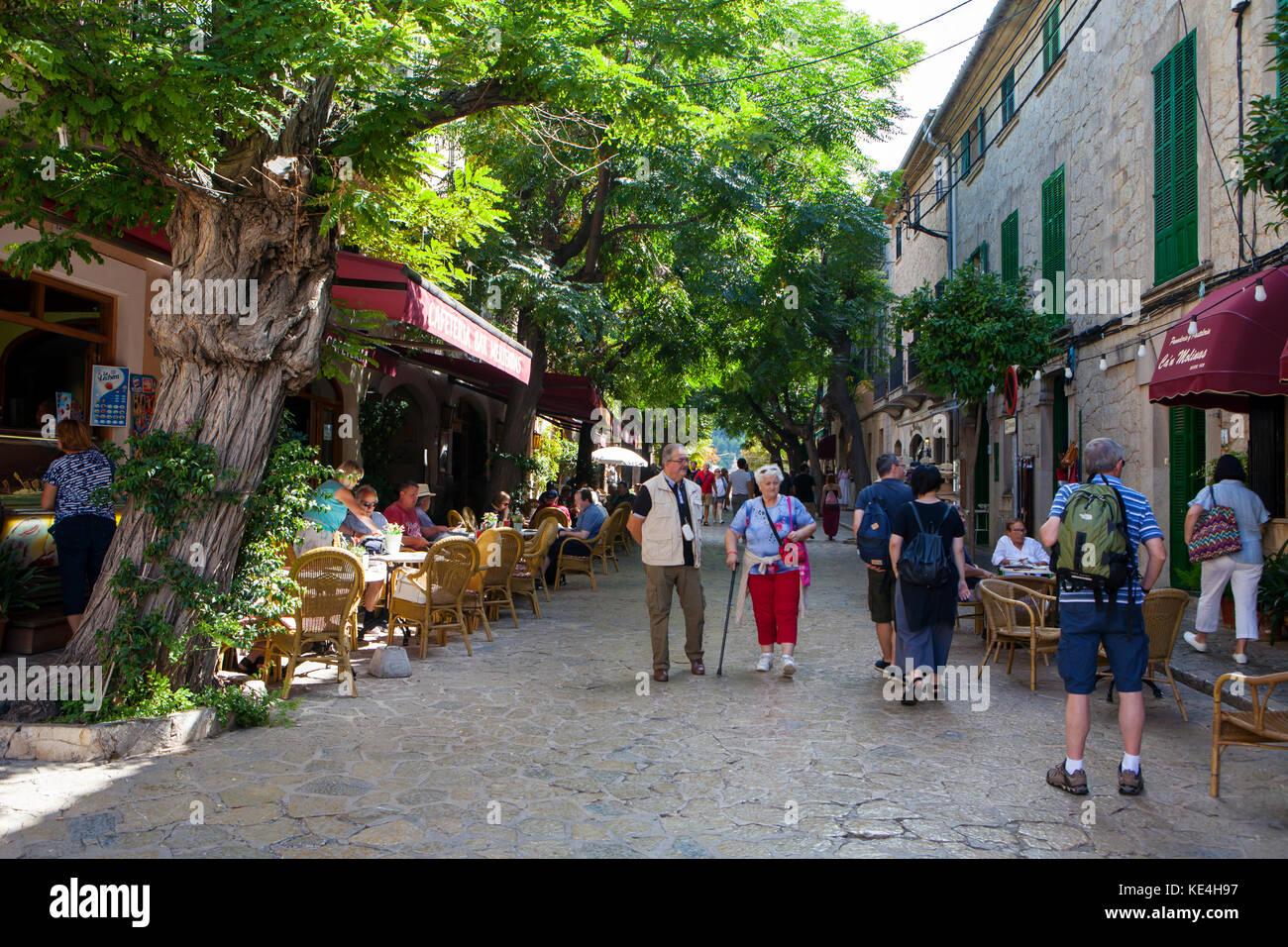 Valldemossa, Majorca, Spain on September 2017 - Stock Image