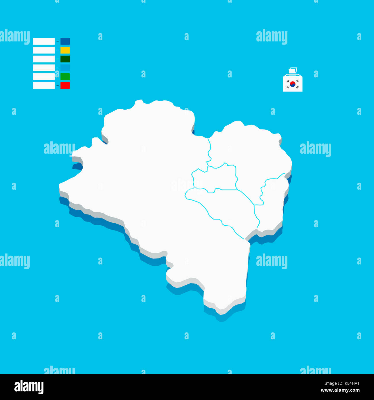 Ulsan Korea Map.Infographic Map Of Ulsan City In Korea Stock Photo 163599913 Alamy