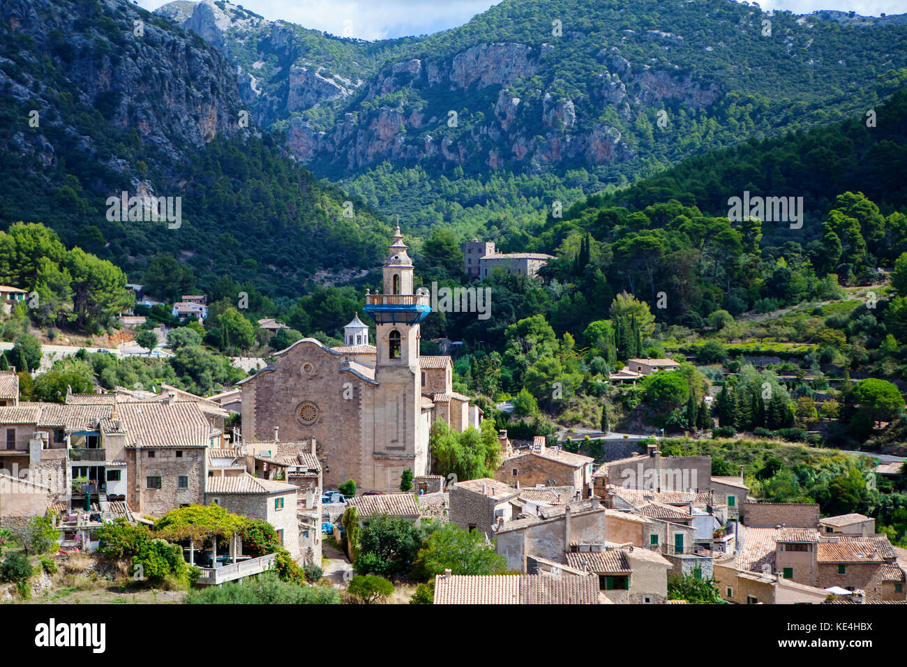 Valldemossa, Majorca, Spain on September 2017 - Stock Image