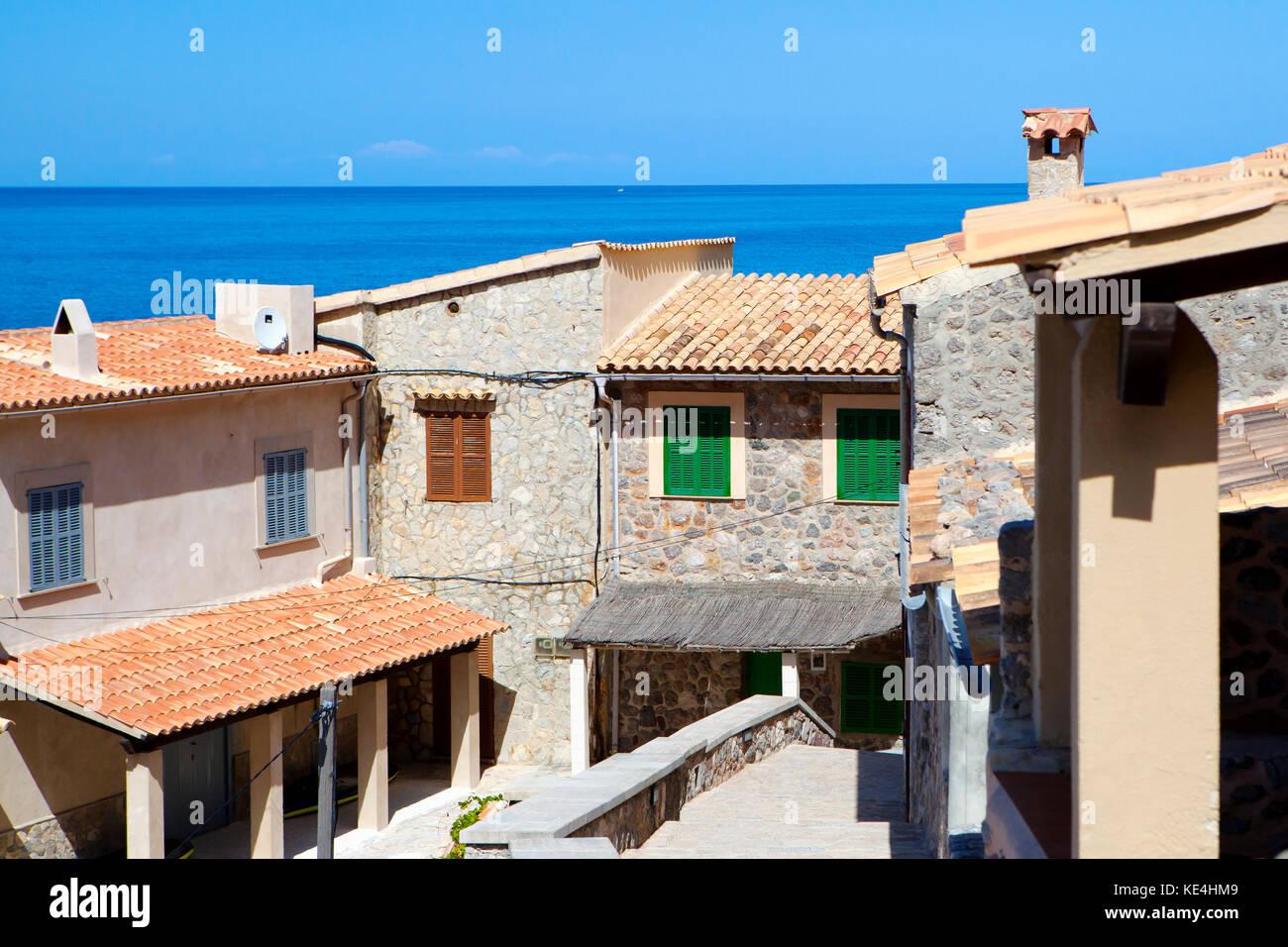 Port de Valldemossa, Majorca, Spain, September 2017 - Stock Image
