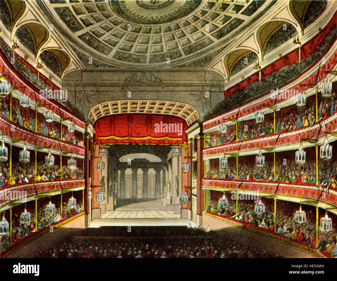 Royal Opera House Covent Garden Interior Stock Photos & Royal Opera ...