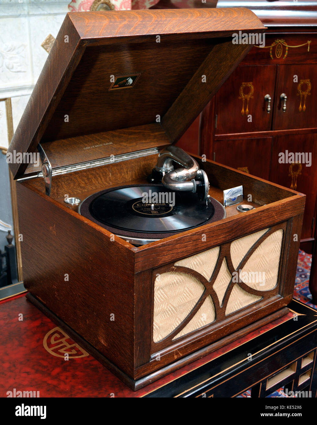 Hmv Gramophone Record Stock Photos & Hmv Gramophone Record