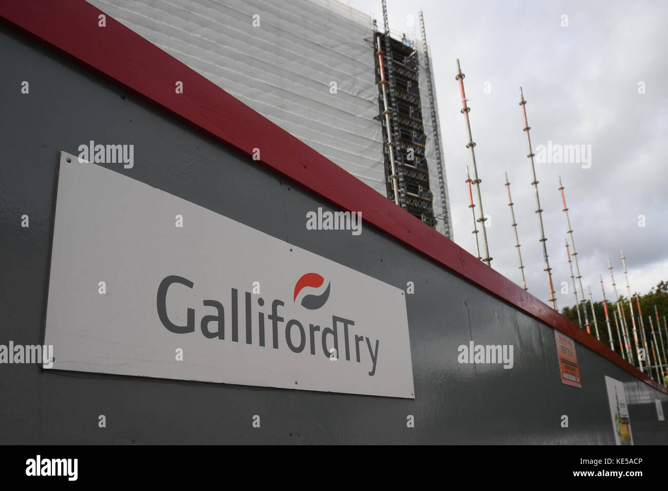 National Regional property group and Gallifordtry building work in Southampton city centre. - Stock Image