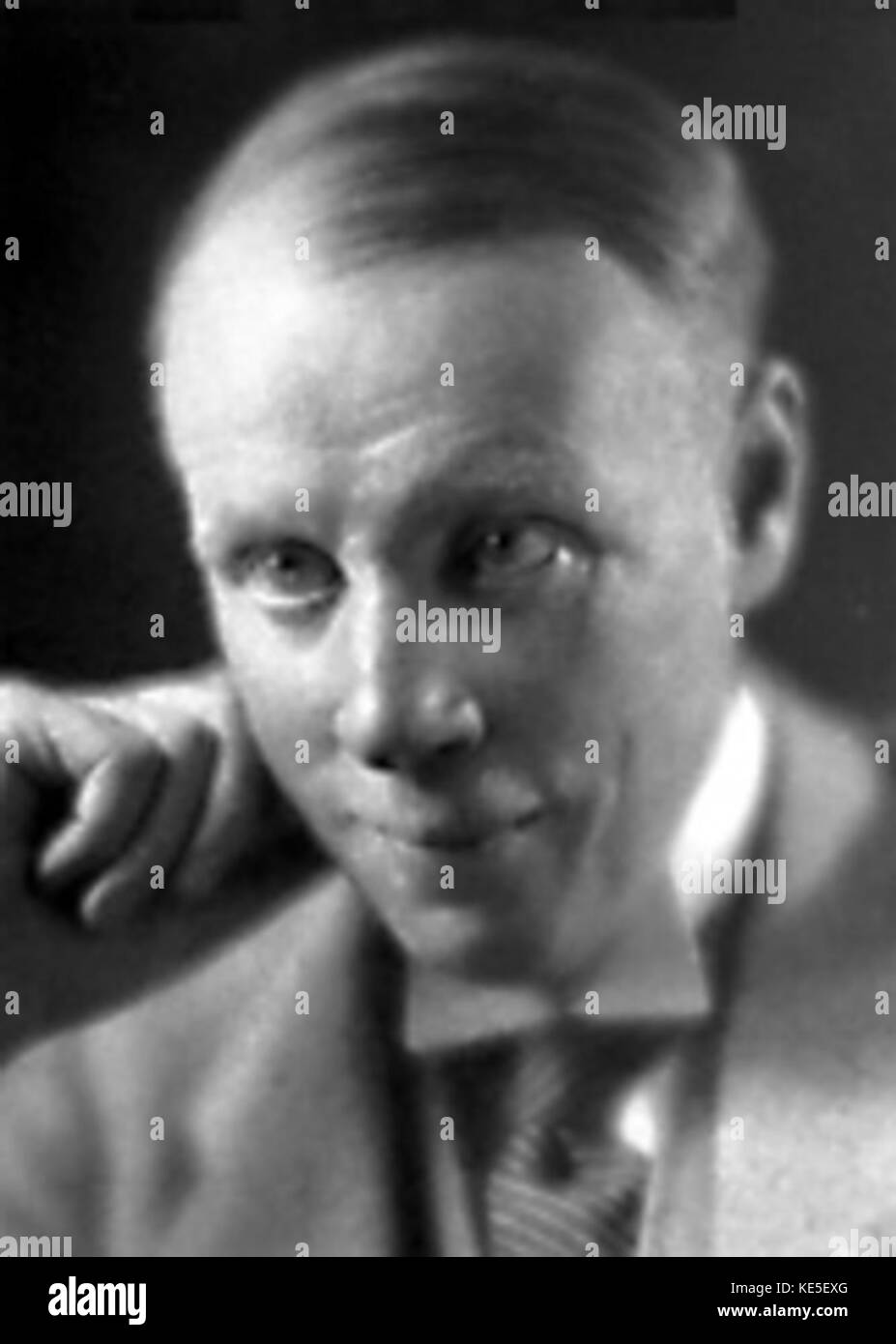 Sinclair Lewis 1930 - Stock Image