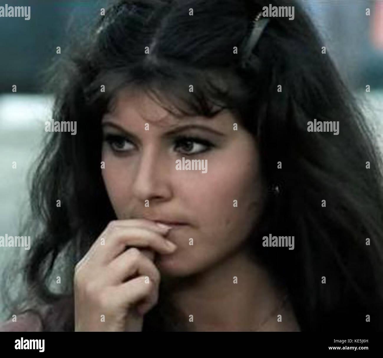 Claudia Mori in Yuppi du - Stock Image