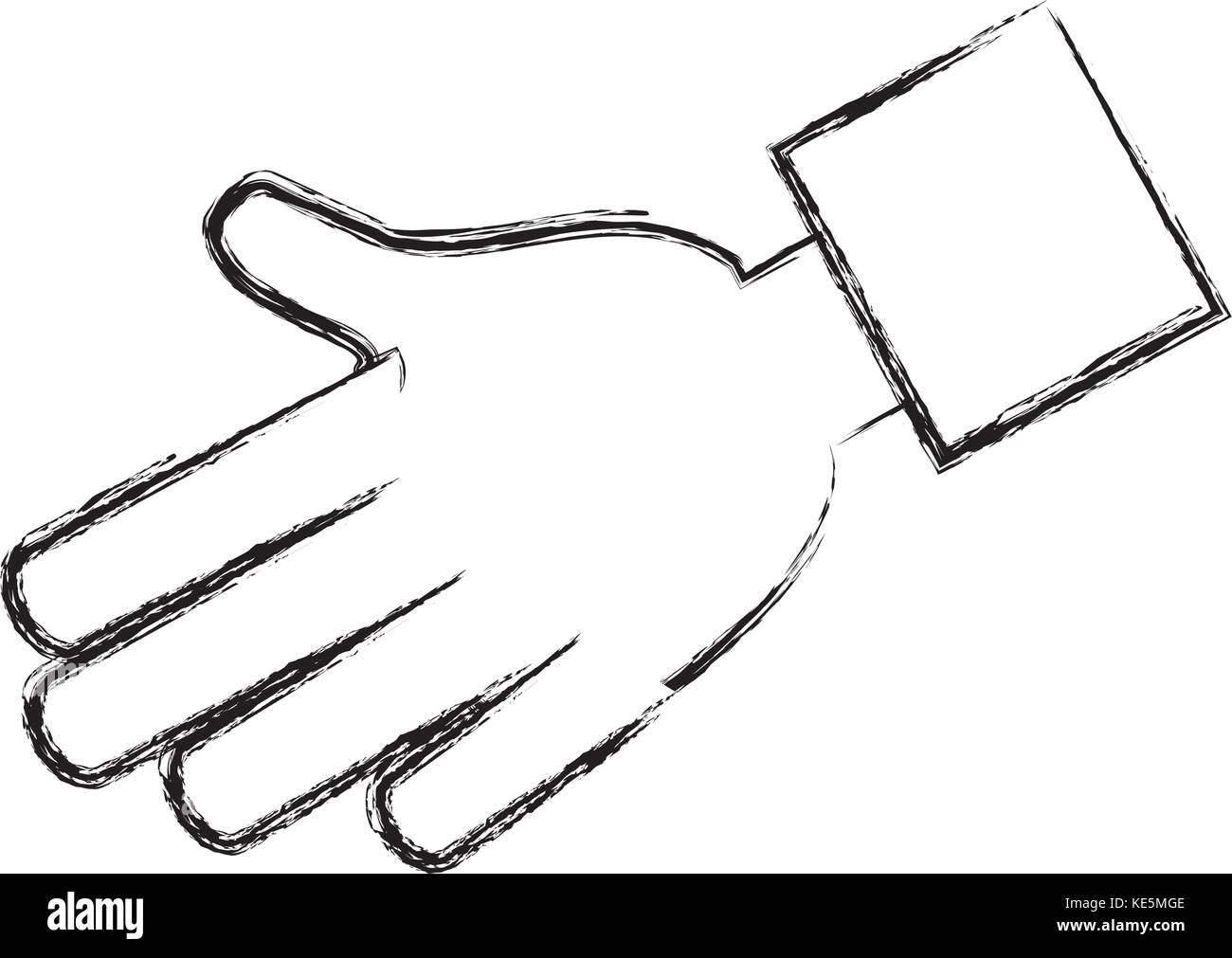 human hands design  - Stock Image