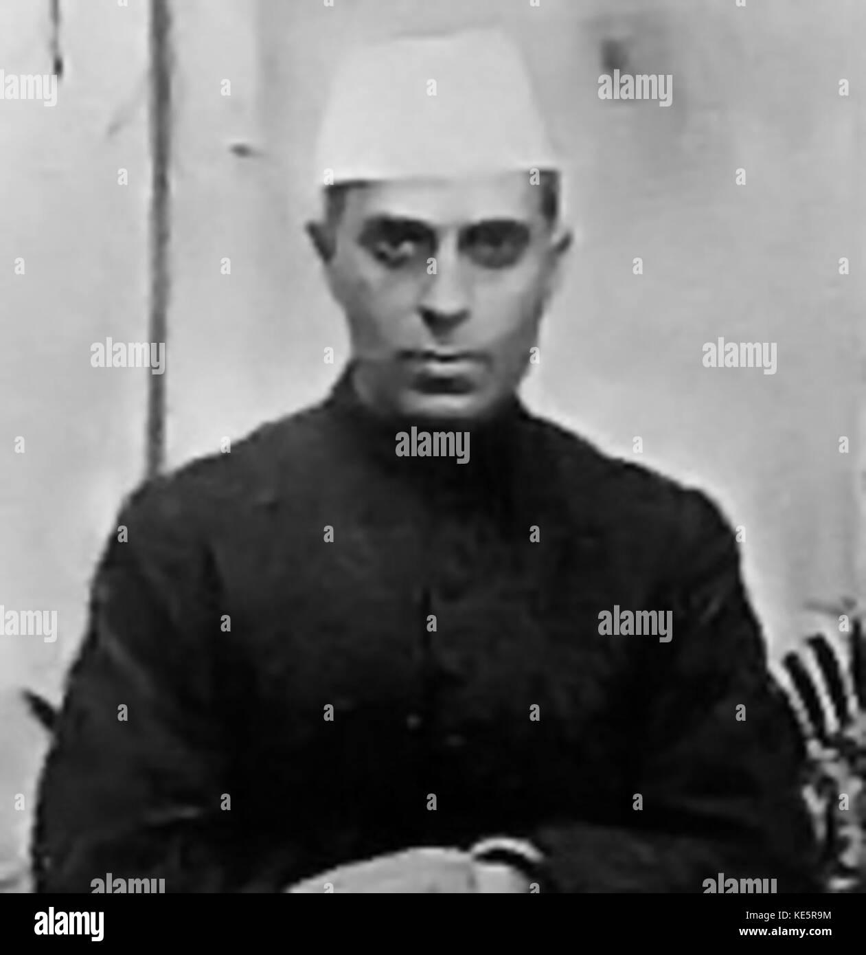 Jawaharlal Nehru - Stock Image
