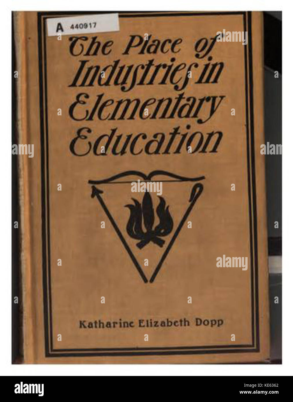 The place of industries in elementary education K E Dopp - Stock Image