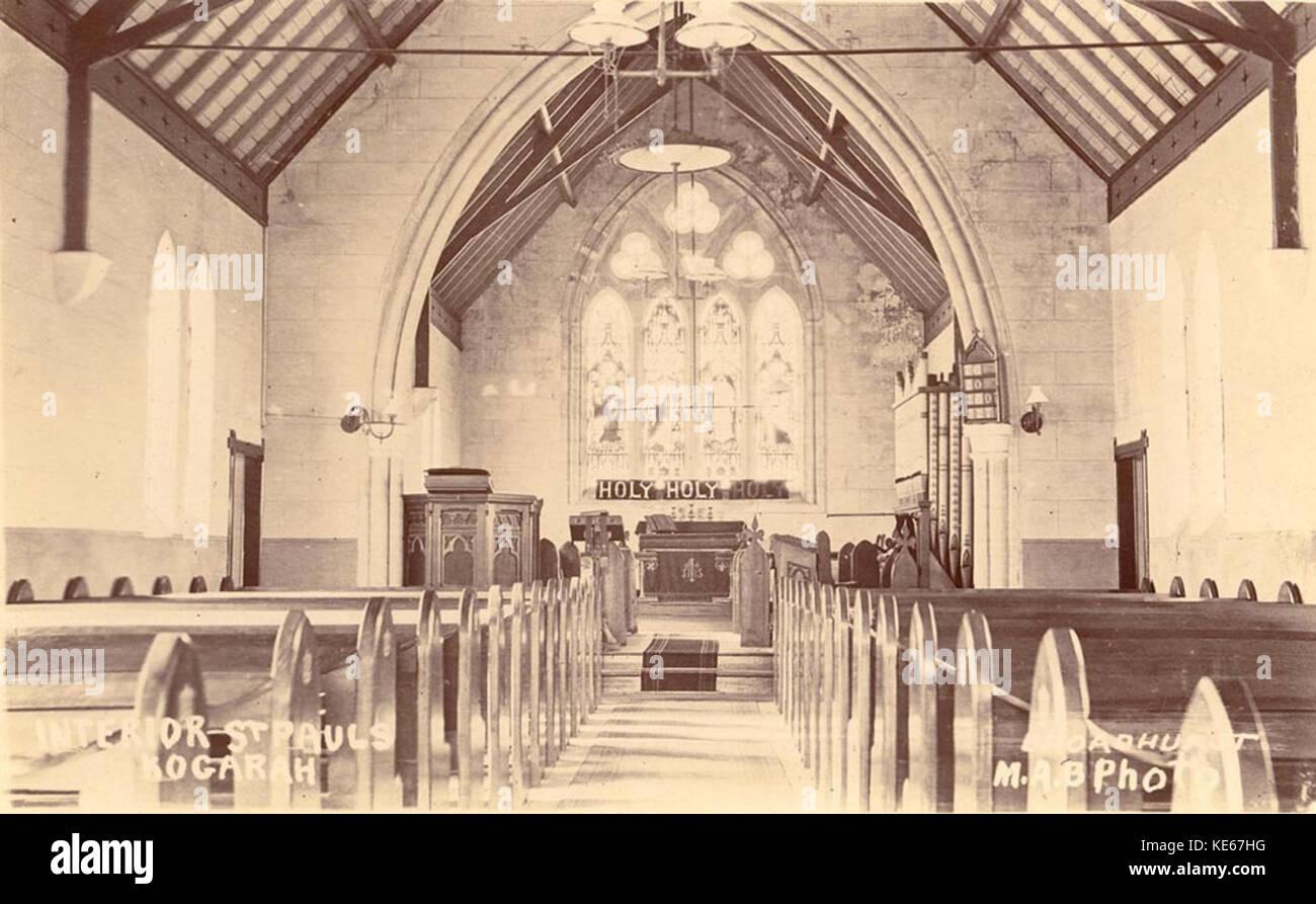 Interior St Paul's Church Stock Photos & Interior St Paul's