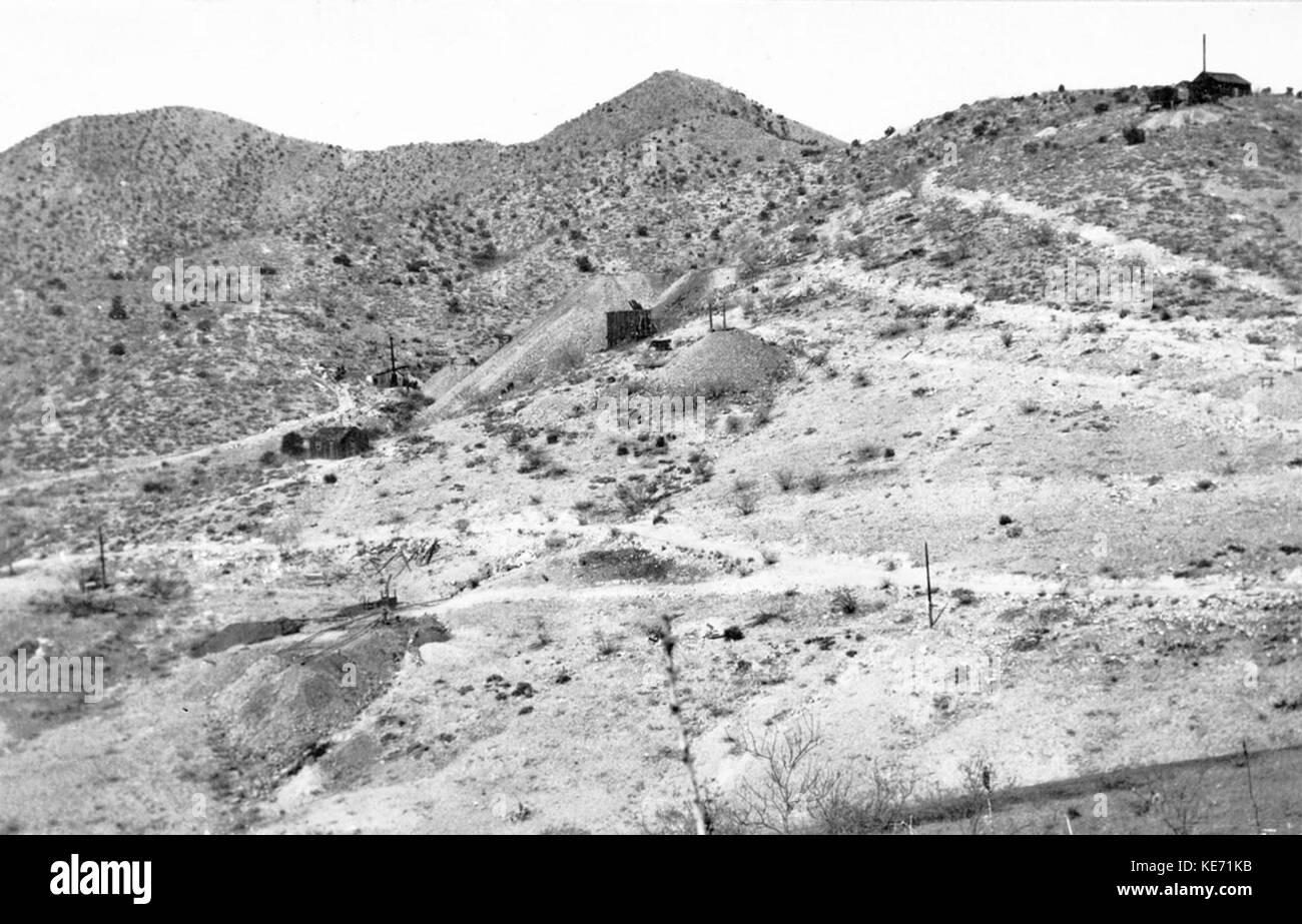 Total Wreck Arizona USGS 1909 Number 1 - Stock Image