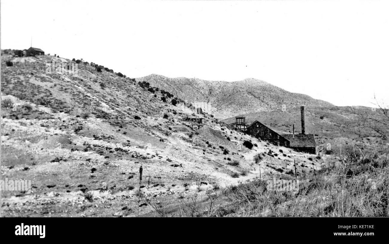 Total Wreck Arizona USGS 1909 Number 2 - Stock Image