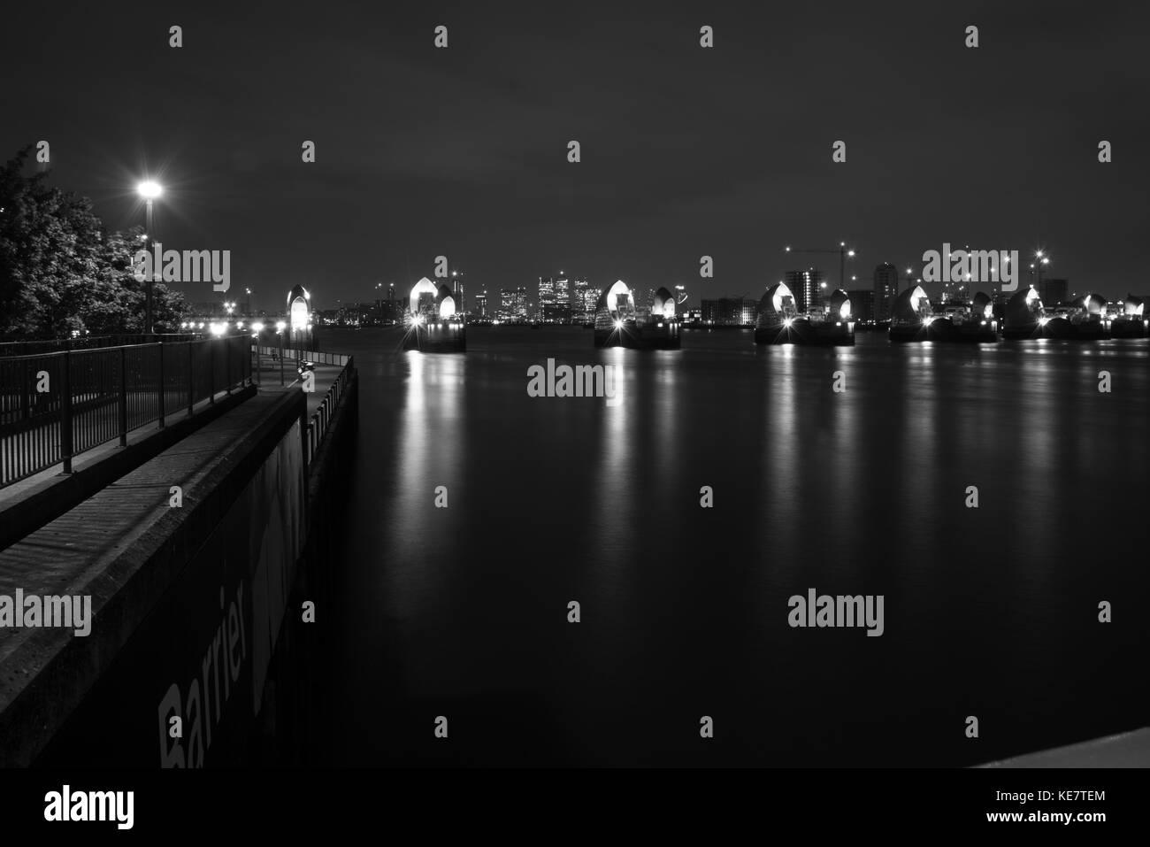Thames Barrier - Stock Image