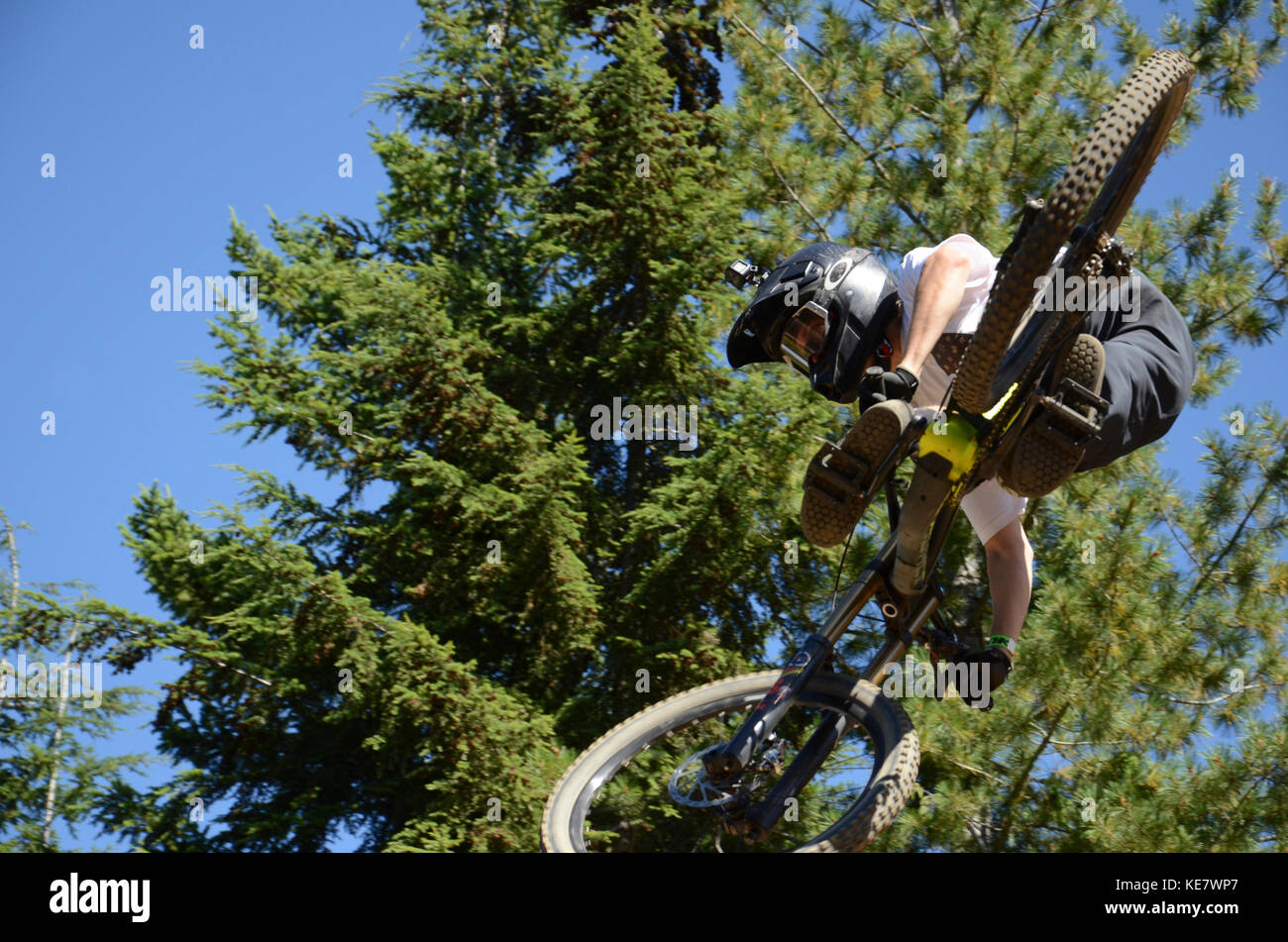 Whip Off World Championships - Crankworx Whistler 2017 - Stock Image
