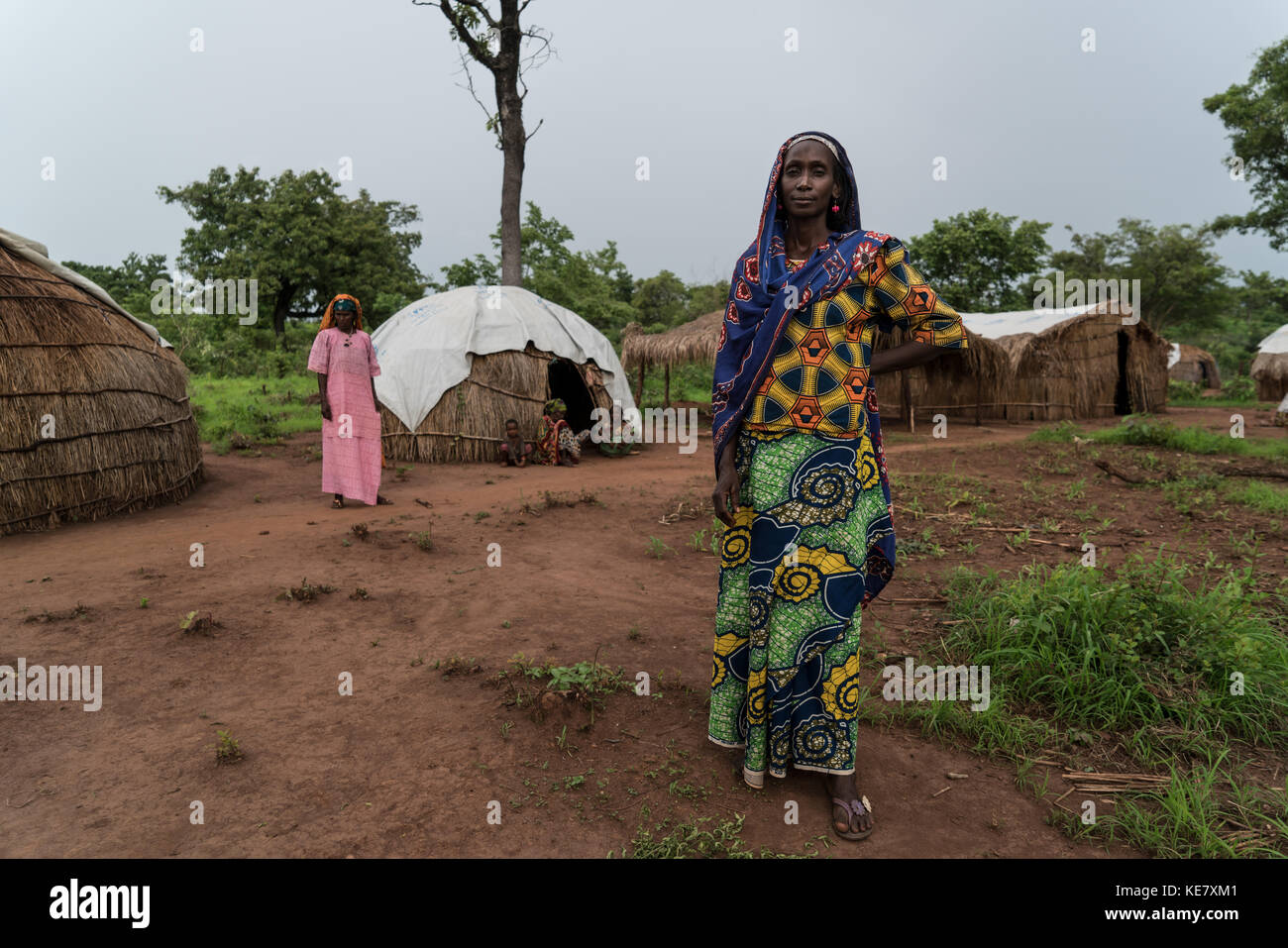 Thousands have been killed since the Central African Republic fell into a slow-churning civil war following a coup - Stock Image