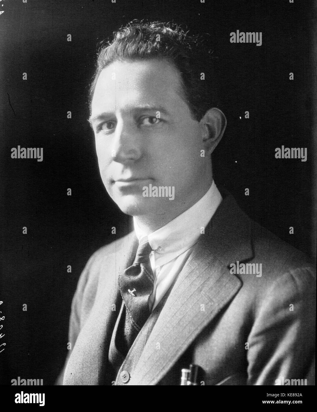 M. Bequet 1924 - Stock Image