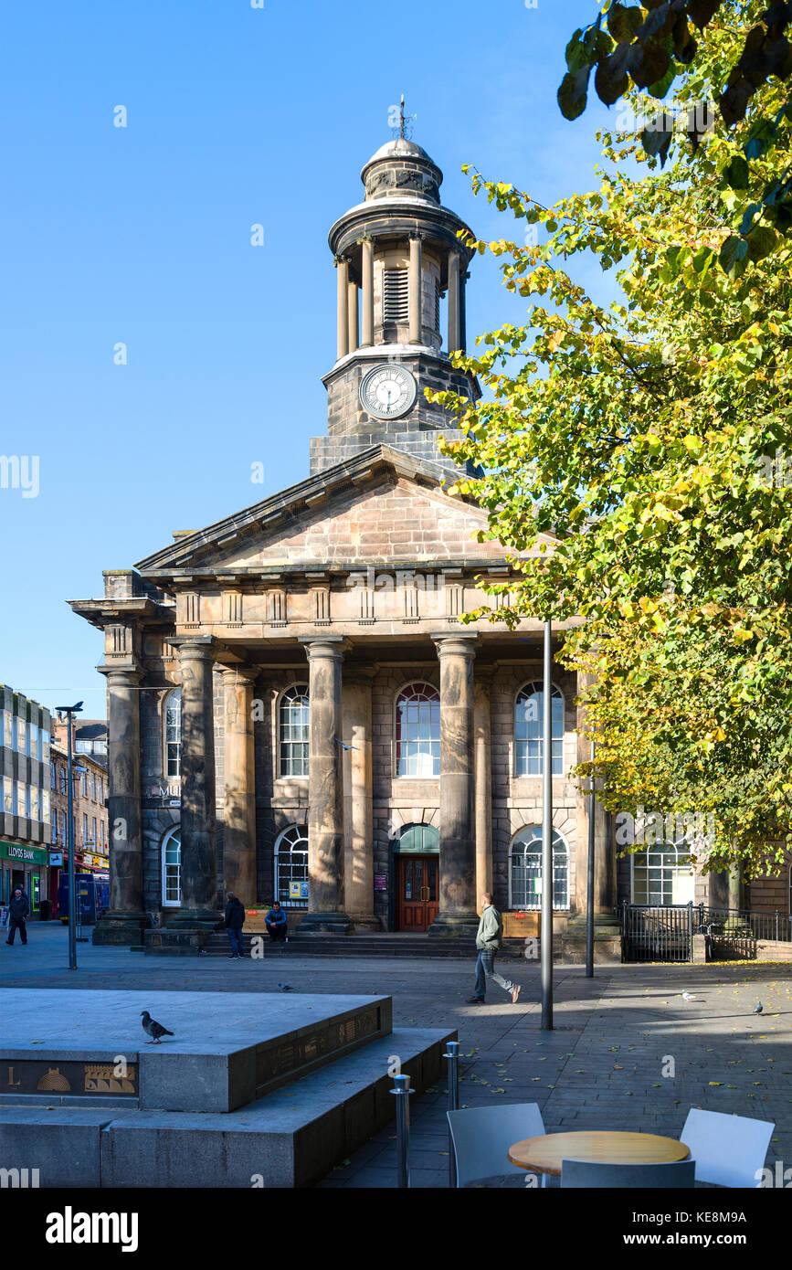 Museum / Old Town Hall, Lancaster - Stock Image