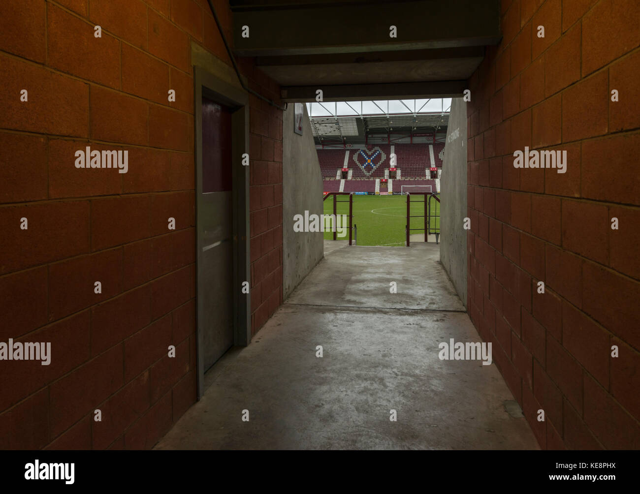 Tynecastle stadium, Edinburgh, Lothians, Scotland, UK - Stock Image