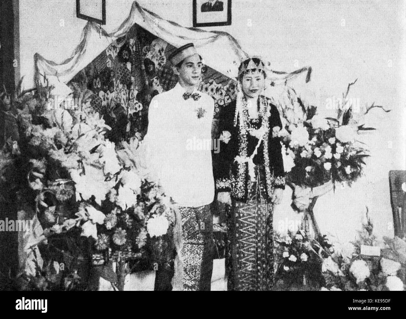 South Sulawesi marriage, ceremony, Wedding Ceremonials, p56 - Stock Image