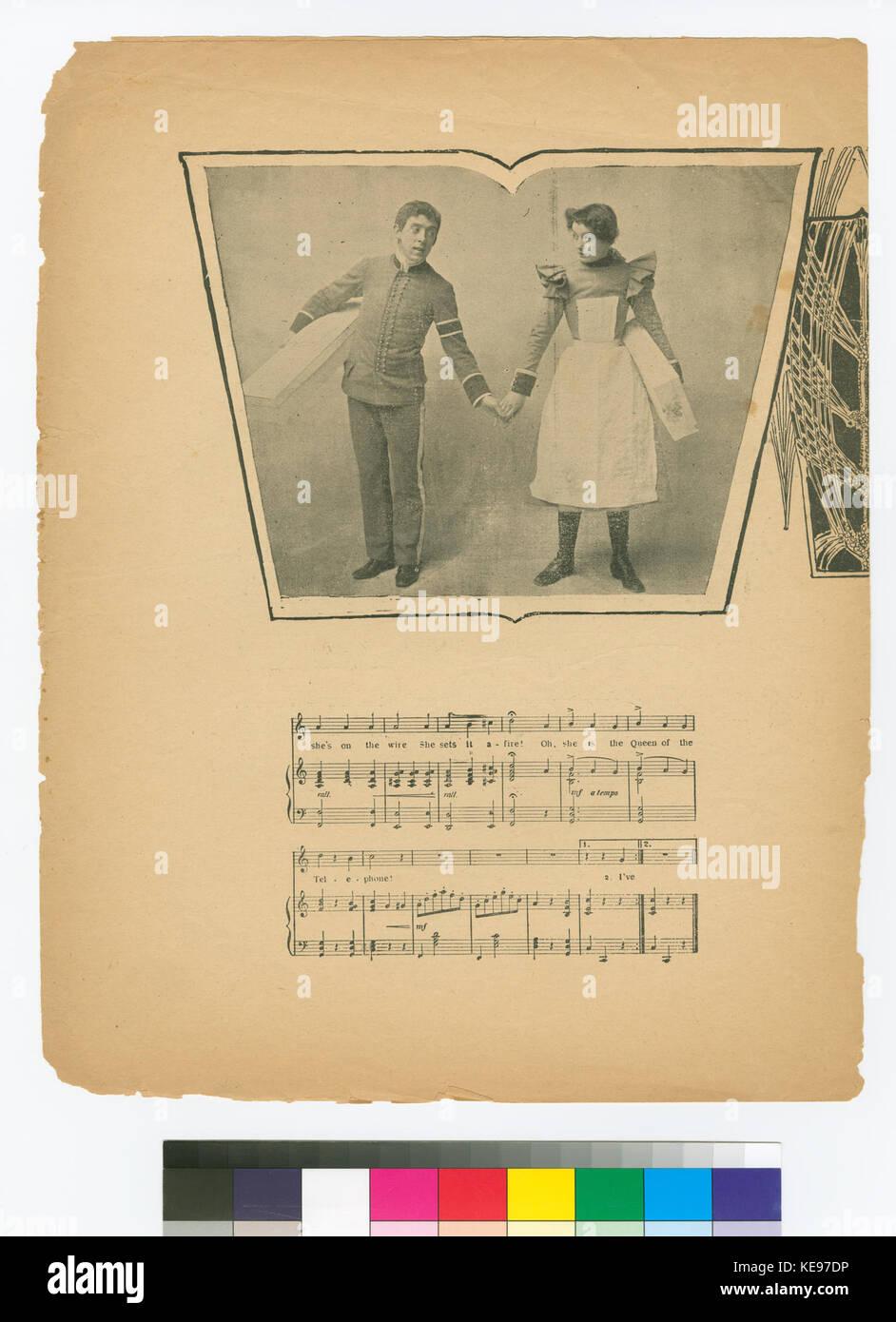 Tricky little Sarah (NYPL Hades 667908 1800020) - Stock Image