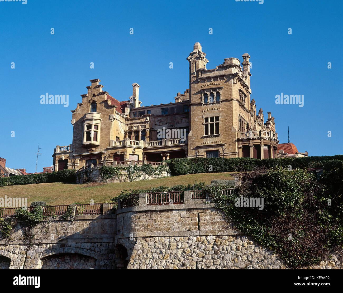 Getxo, province of Vizcaya (Bizkaia), Basque Country, Spain - Stock Image