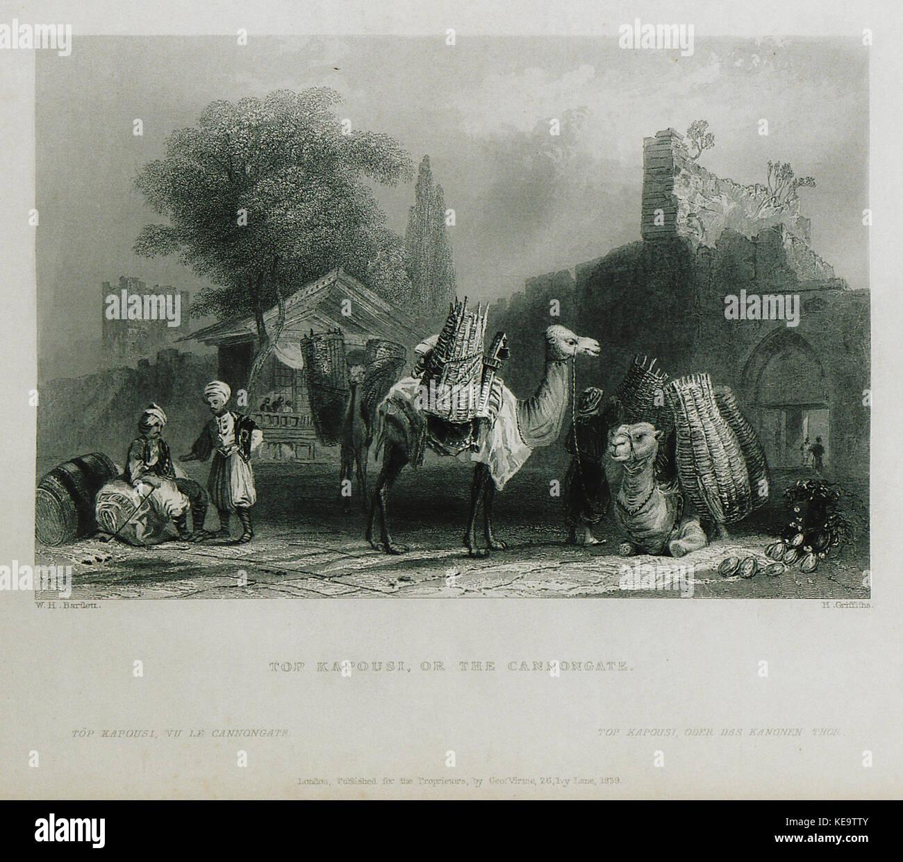 Top kapousi, or the Cannongate   Pardoe Julia   1838 Stock Photo