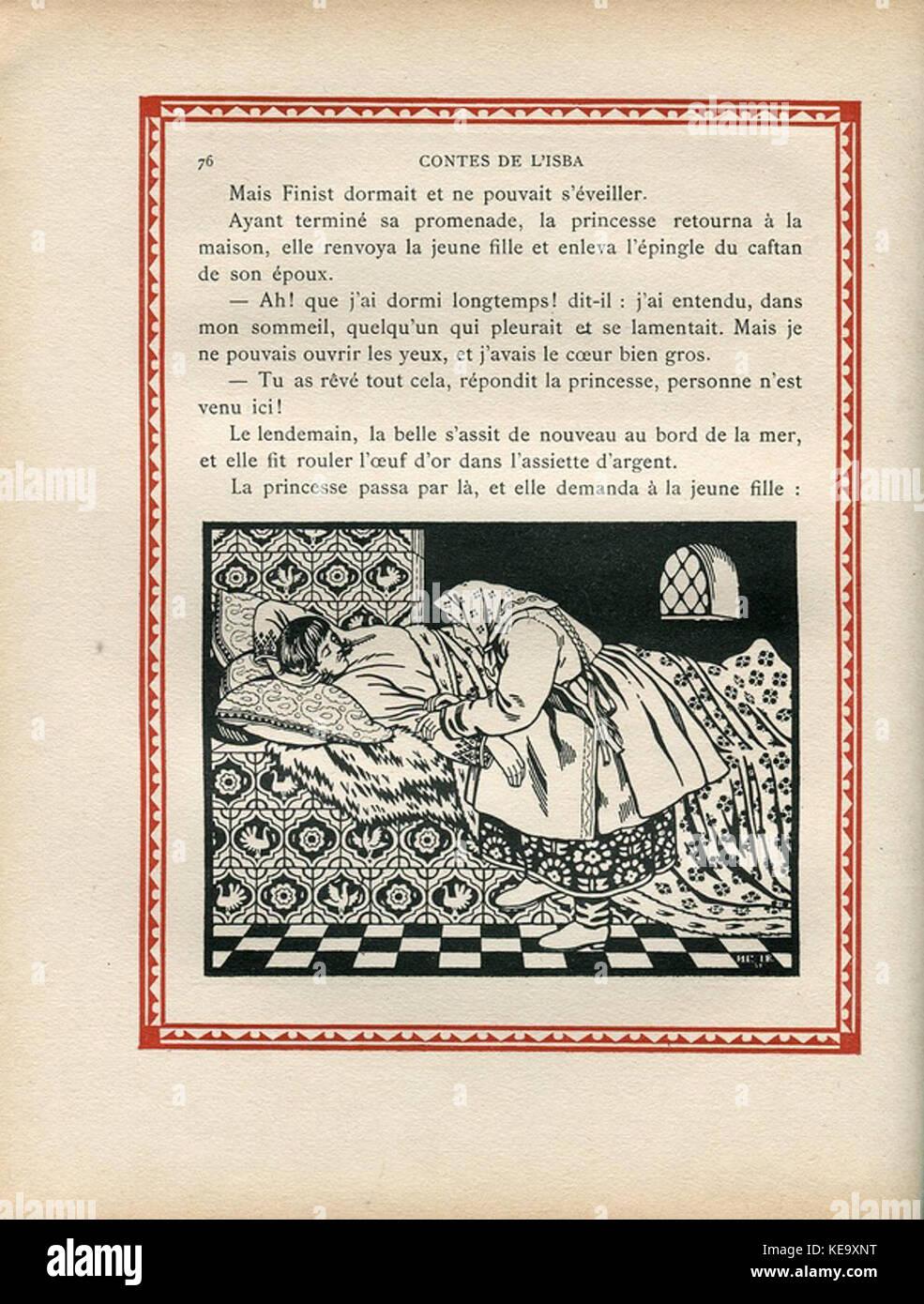 Contes de l'isba (1931)   Une plume de Finist le Beau Sokol 5 - Stock Image