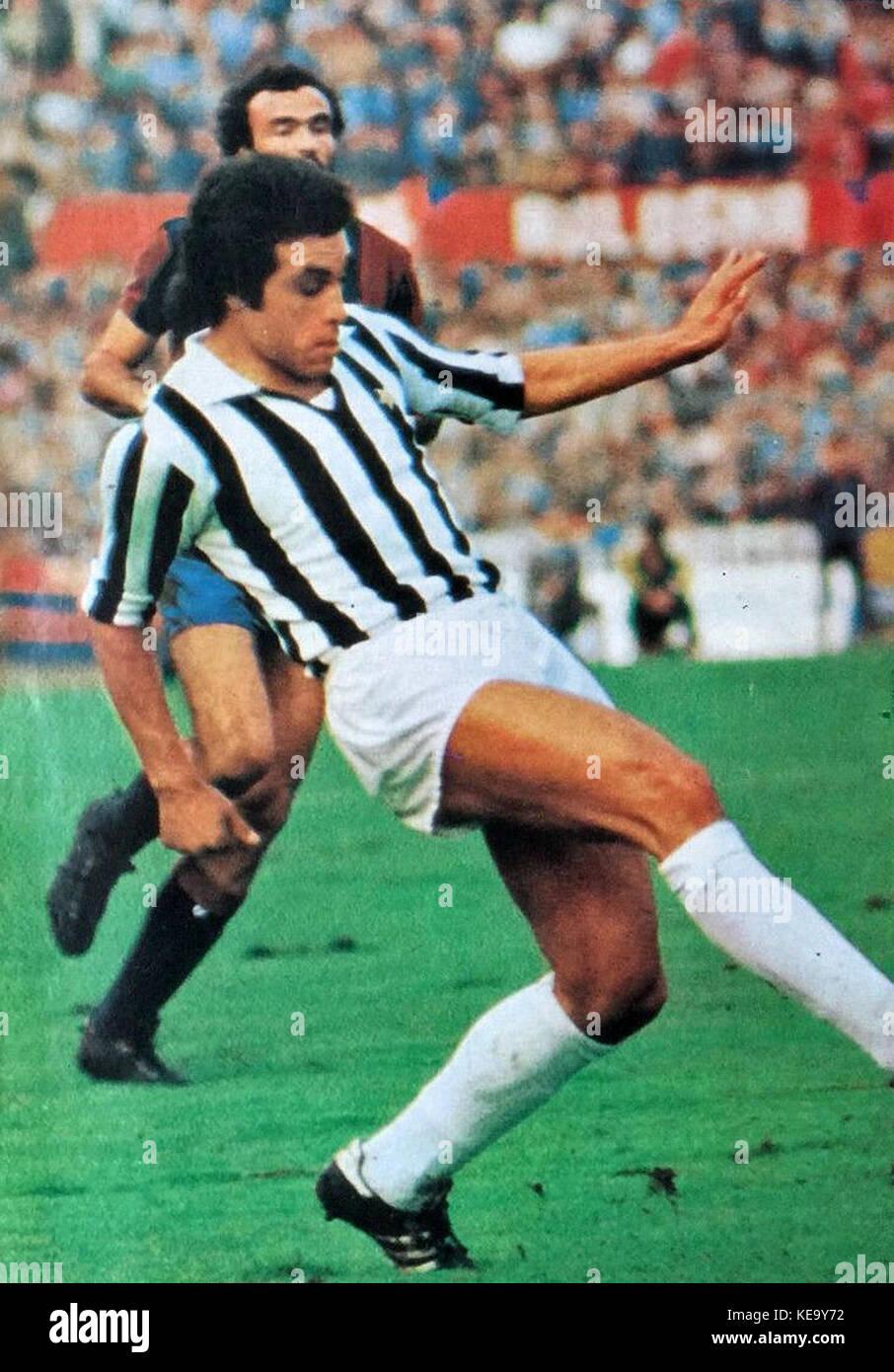 Franco Causio   1974   Juventus FC Stock Photo