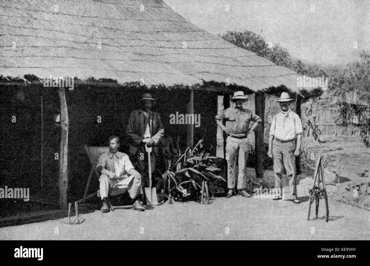 BSAC settlers Southern Rhodesia - Stock Image