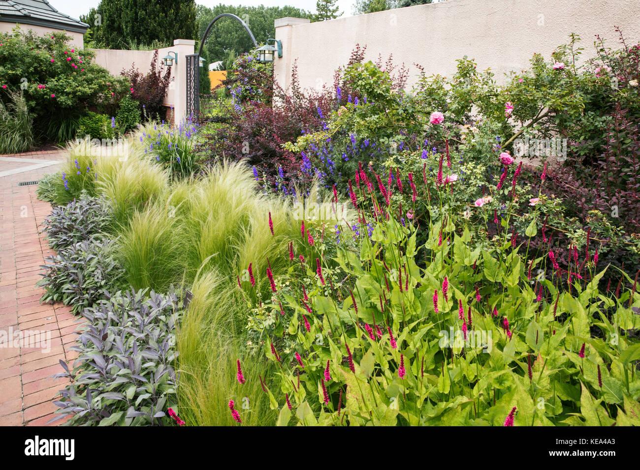 Denver Botanic Gardens, Denver, Colorado, USA - Stock Image