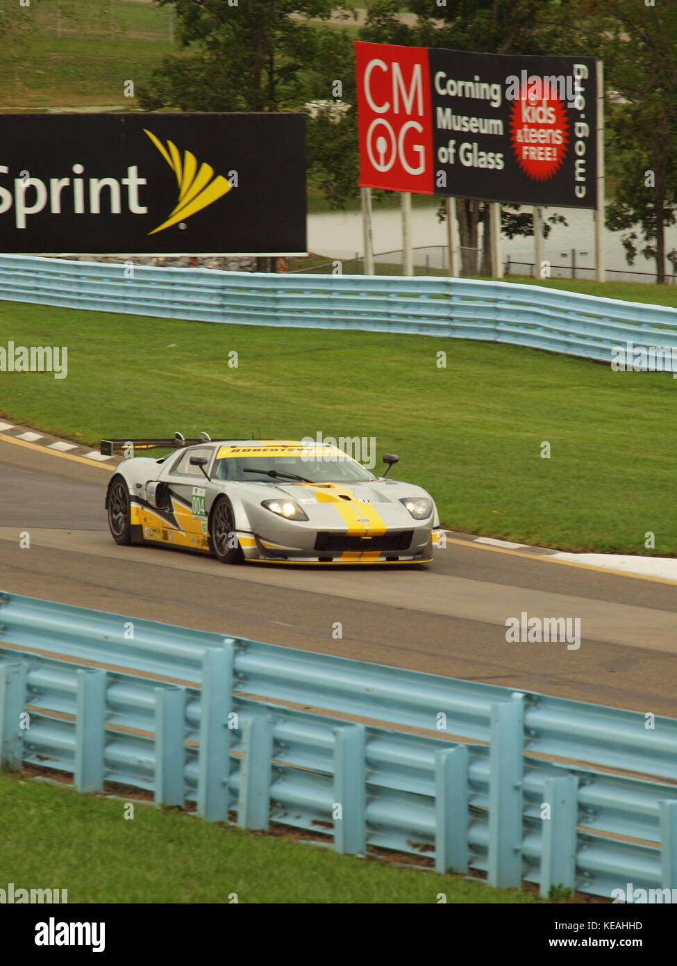 Watkins Glen Race Track >> Ford Gt40 Climbing The Hill Towards The S Curve At Watkins