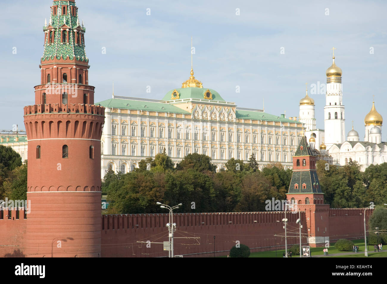 The Kremlin in Moscow, Russia - Stock Image