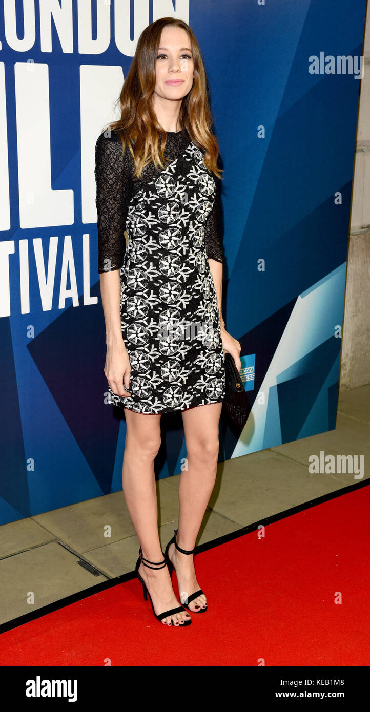 Photo Must Be Credited ©Alpha Press 079965 14/10/2017 Chloe Pirrie London Film Festival Awards 2017  during - Stock Image