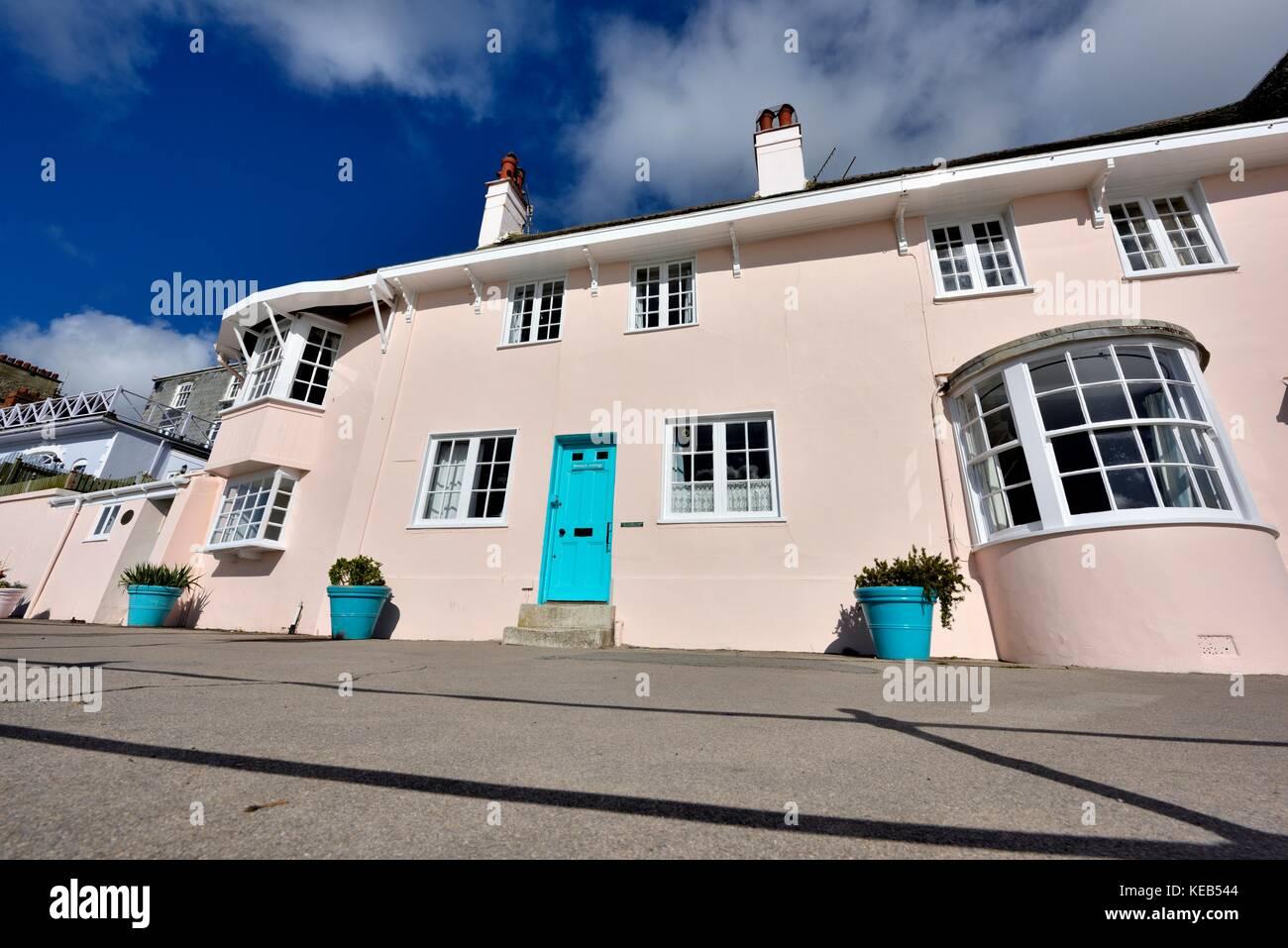 Wondrous Seaside Holiday Cottages Lyme Regis Dorset England Uk Stock Home Remodeling Inspirations Genioncuboardxyz