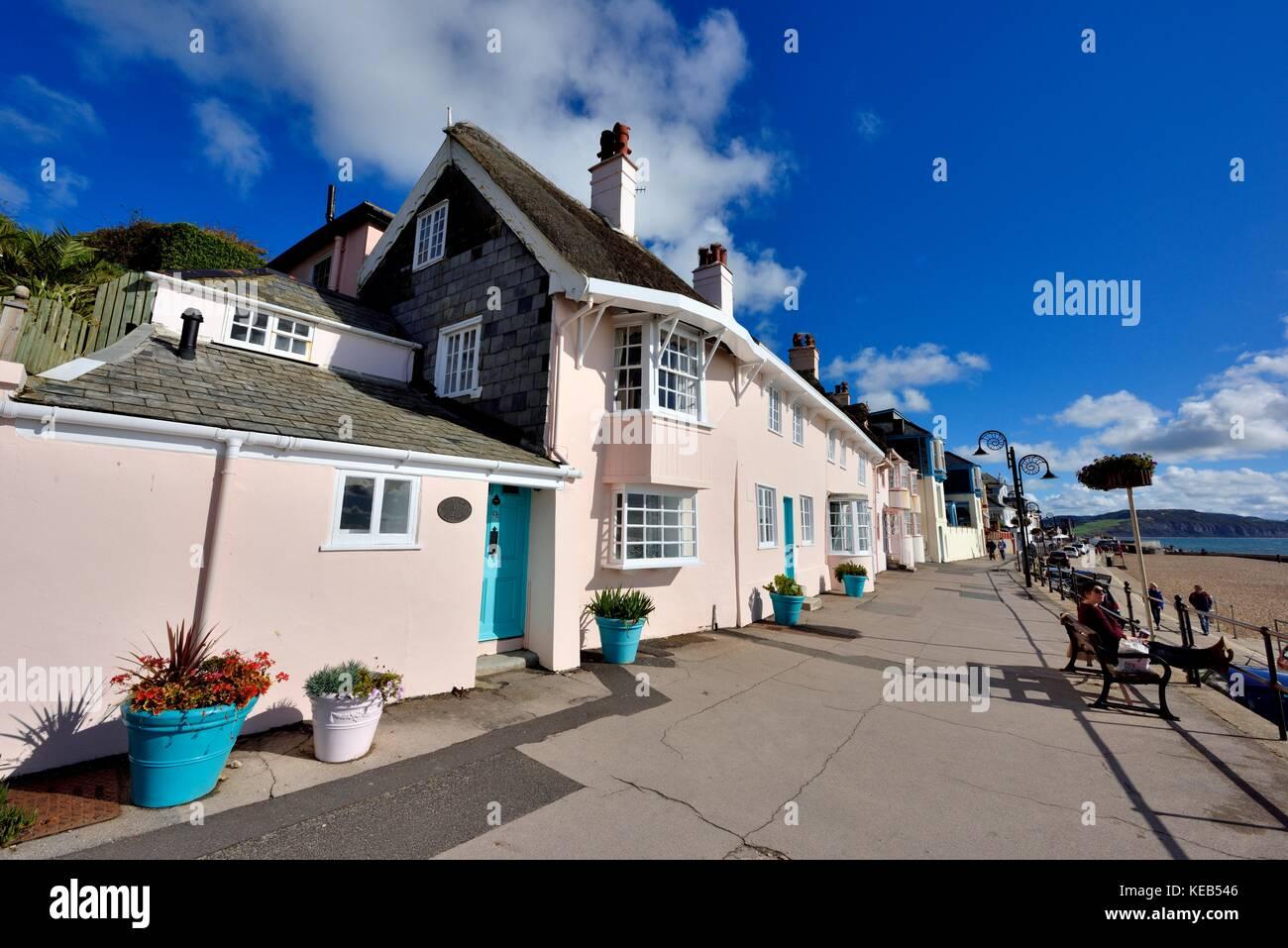 Swell Seaside Holiday Cottages Lyme Regis Dorset England Uk Stock Home Remodeling Inspirations Genioncuboardxyz