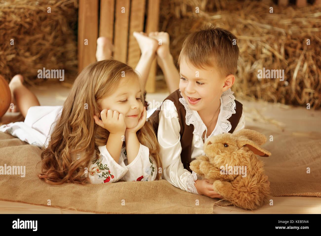 European Boy And Girl Togetherlove Story Stock Photo 163744480 Alamy