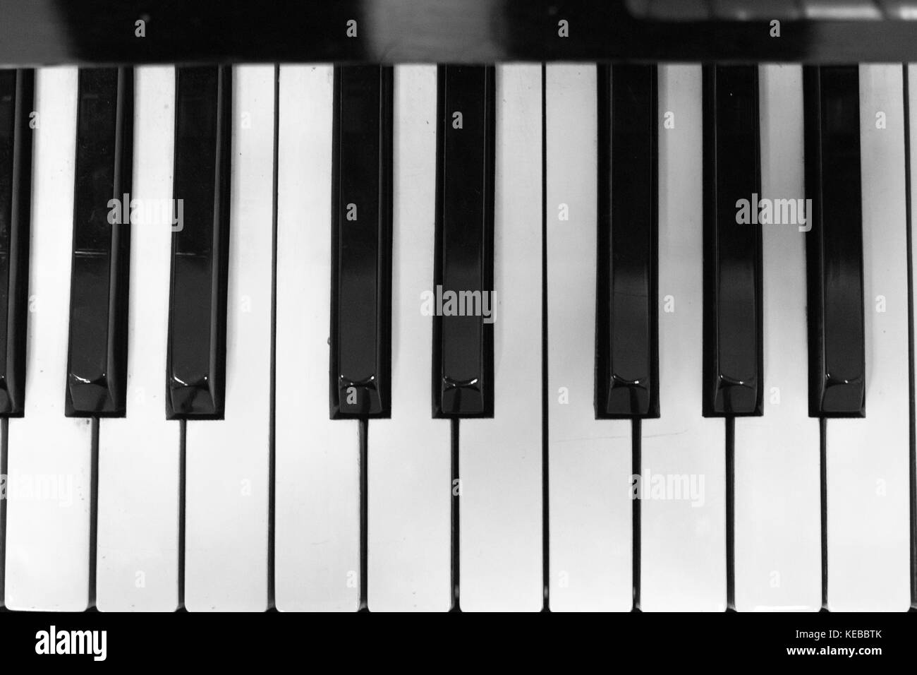 Piano keyboard. Home synthesizer. - Stock Image