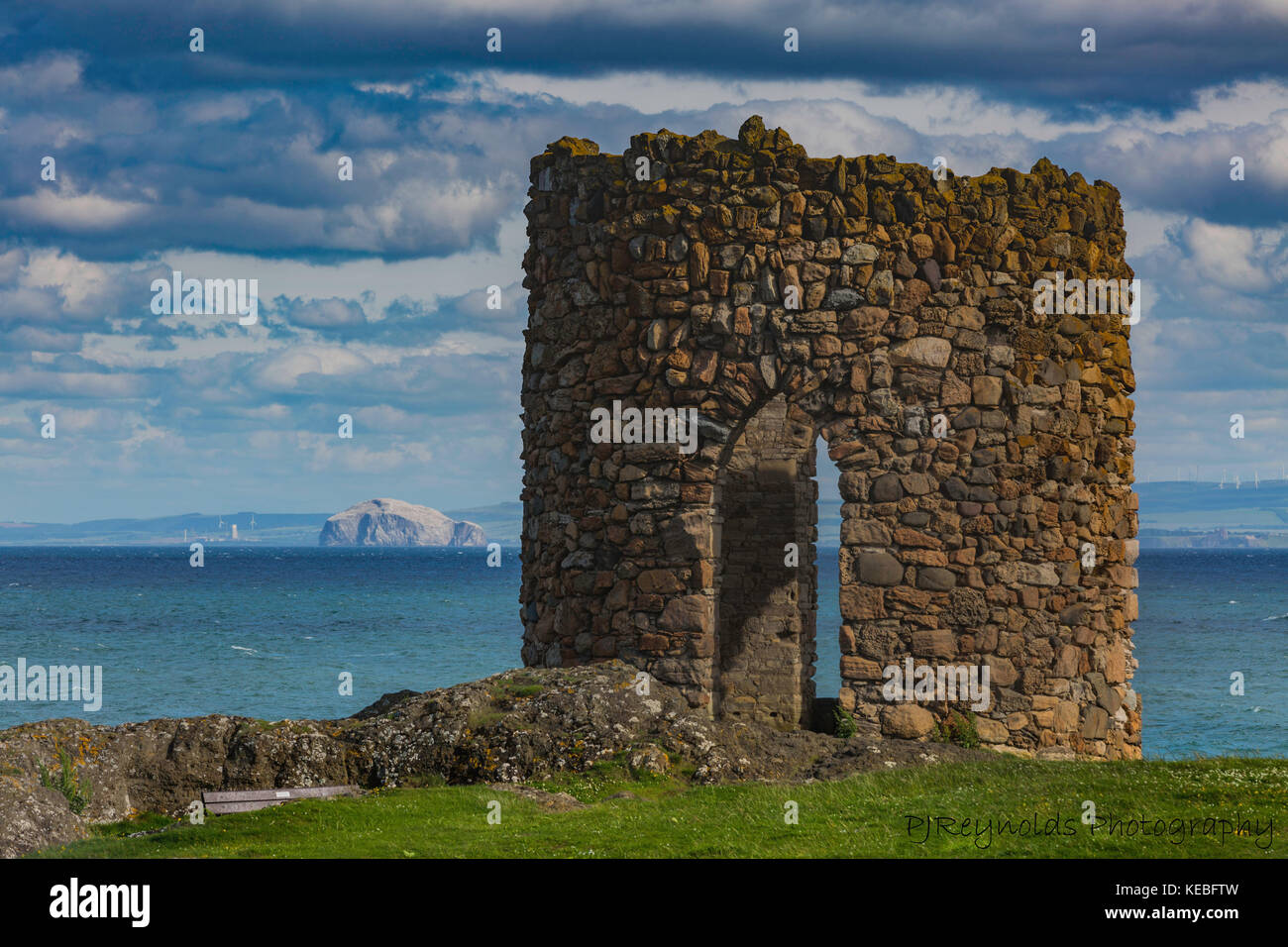 Lady's Tower, Elie, Leven, Fife - Stock Image