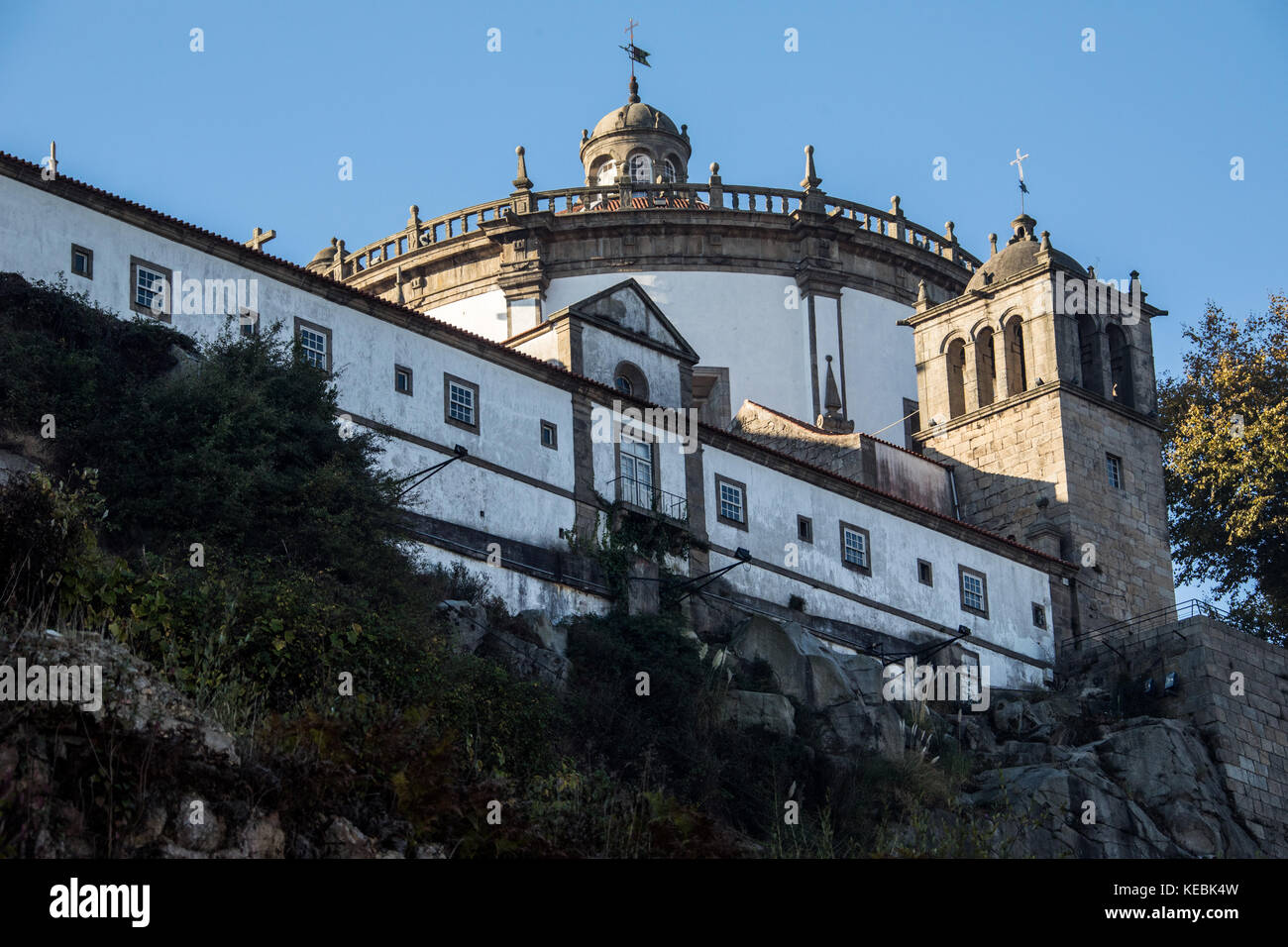 Mosteiro da Serra do Pilar, Porto, Portugal - Stock Image