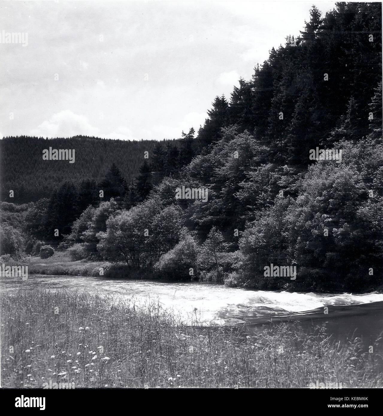 Landschaftsaufnahmen von Leopold Fiebing (* 1905, + 1993), einem deutschen  Landschafts- und Pressephotografen mit - Stock Image