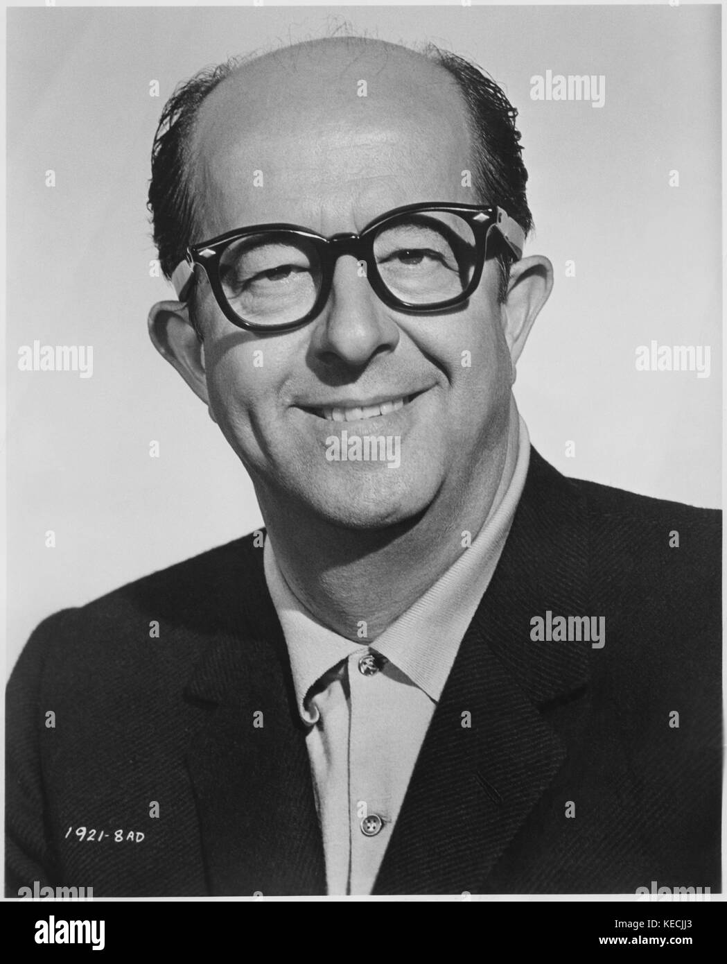 Phil Silvers, Publicity Portrait for the Film, '40 Pounds of Trouble', Universal Pictures, 1962 - Stock Image