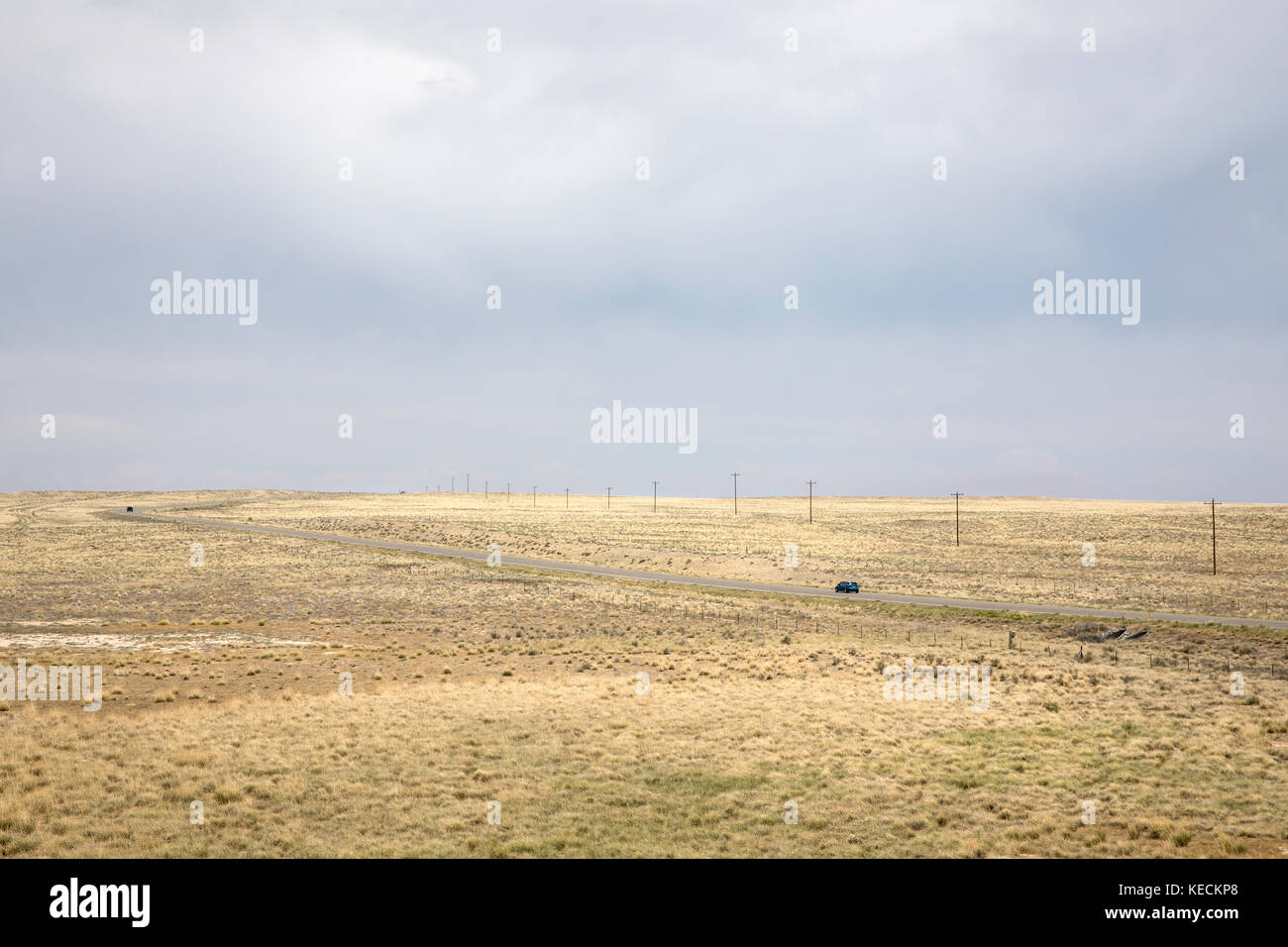 The Middle of Nowhere, Northern New Mexico, USA - Stock Image