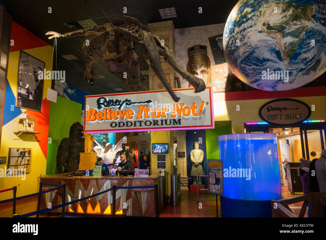 Ripley's believe it or not curiosities NYC - Stock Image