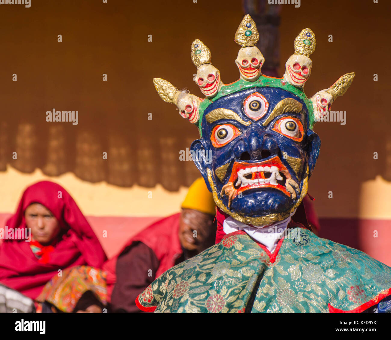 Ladakh, Northern India. Travel, culture and scenery in Ladakh during winter months. - Stock Image