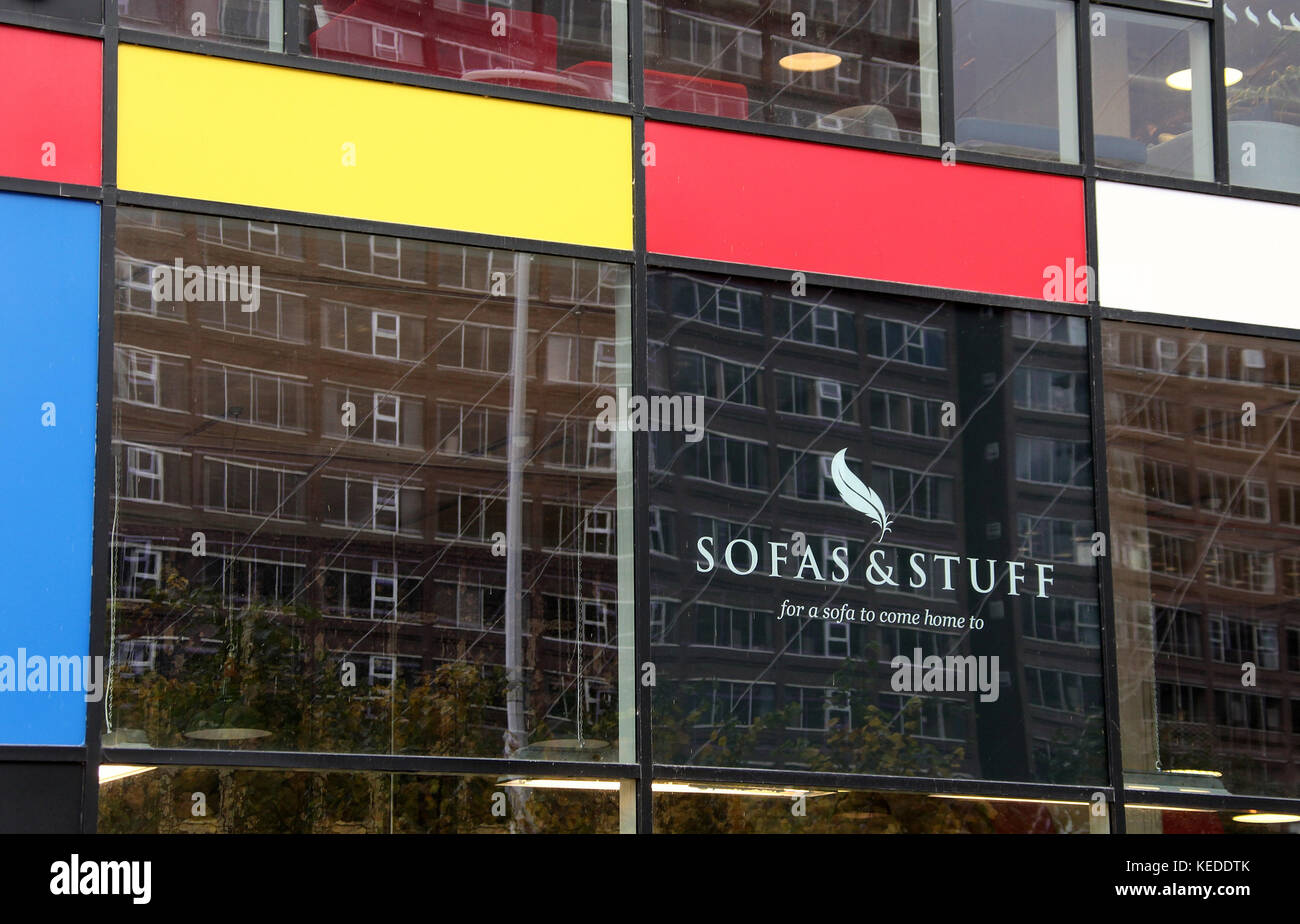 Sofas and Stuff in Manchester - Stock Image