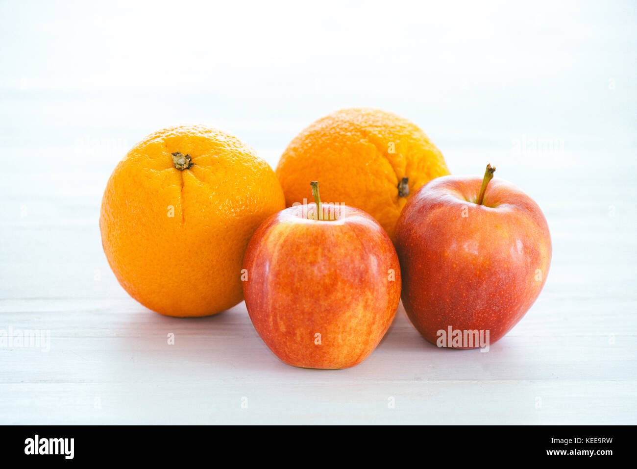 apples and oranges - Stock Image