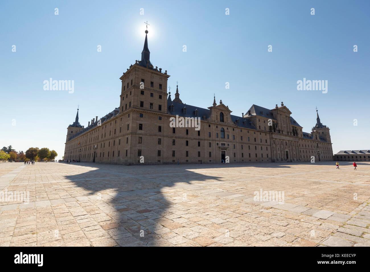 El Escorial monastery Stock Photo
