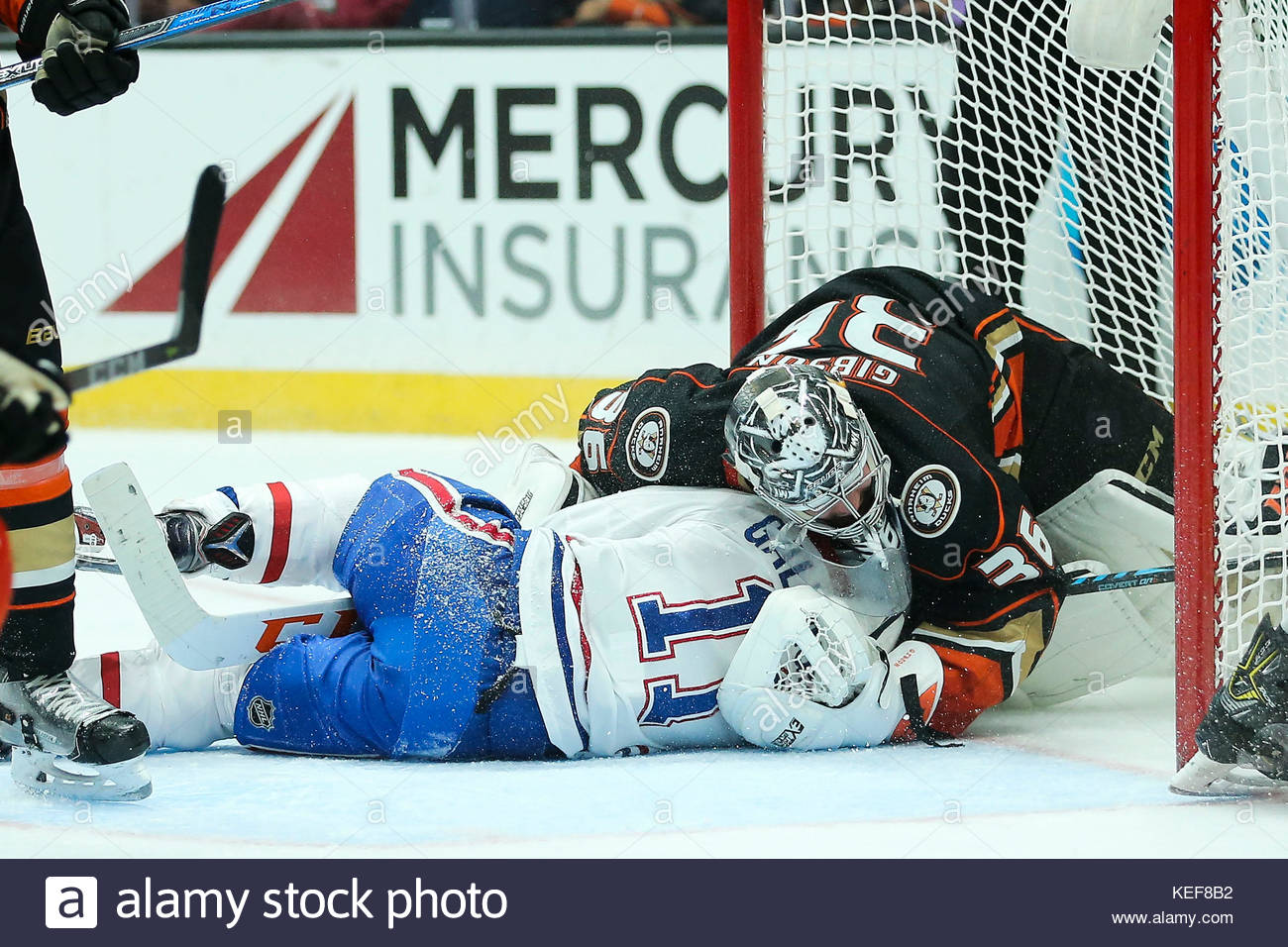 Anaheim California Usa 20th Oct 2017 Montreal Canadiens Right