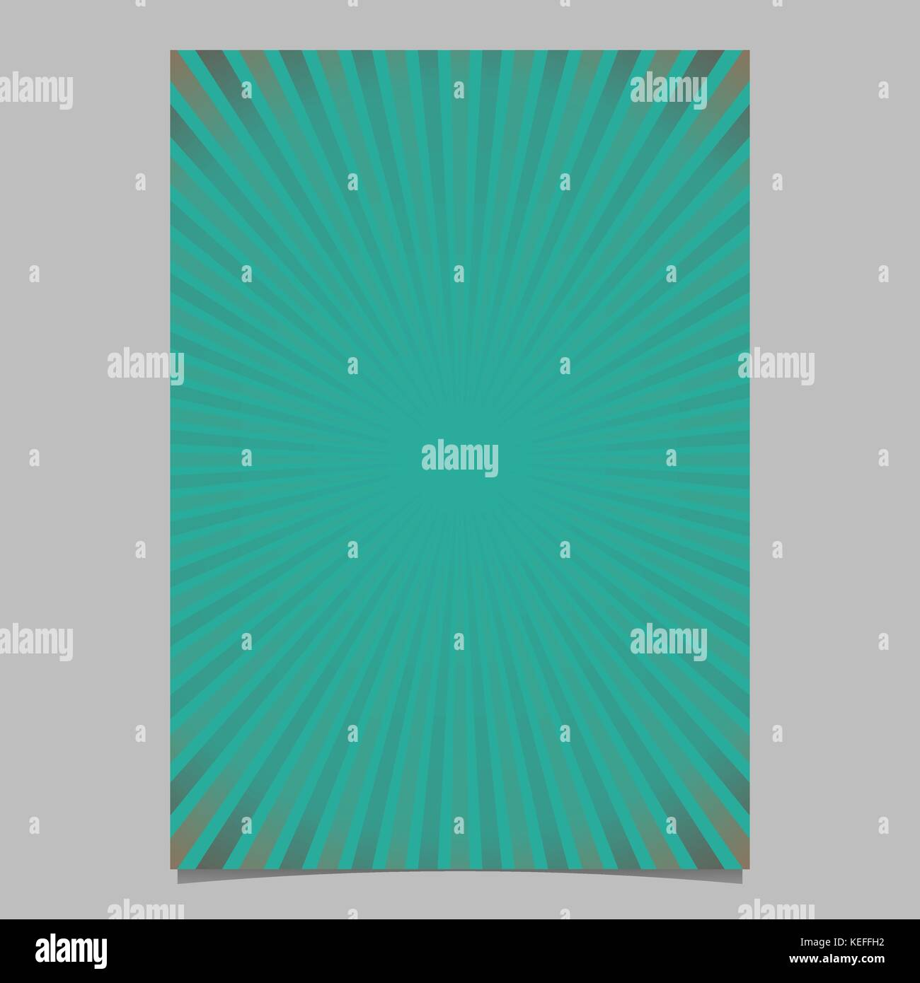 5b068622b6 Abstract gradient sunray brochure template - vector poster background  graphic design from striped rays