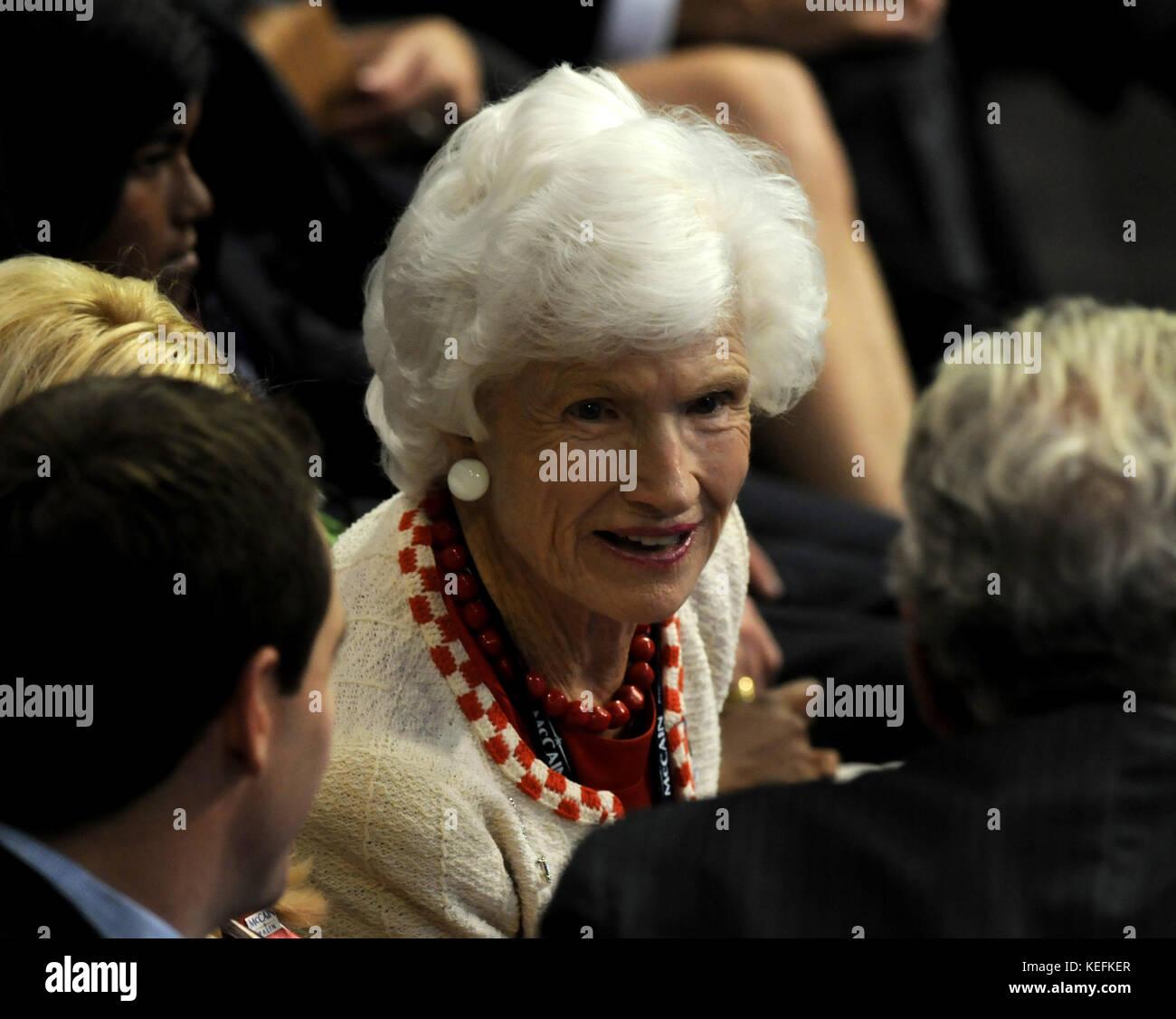 Roberta Mccain: September 1, 2008 -- Mrs. Roberta McCain