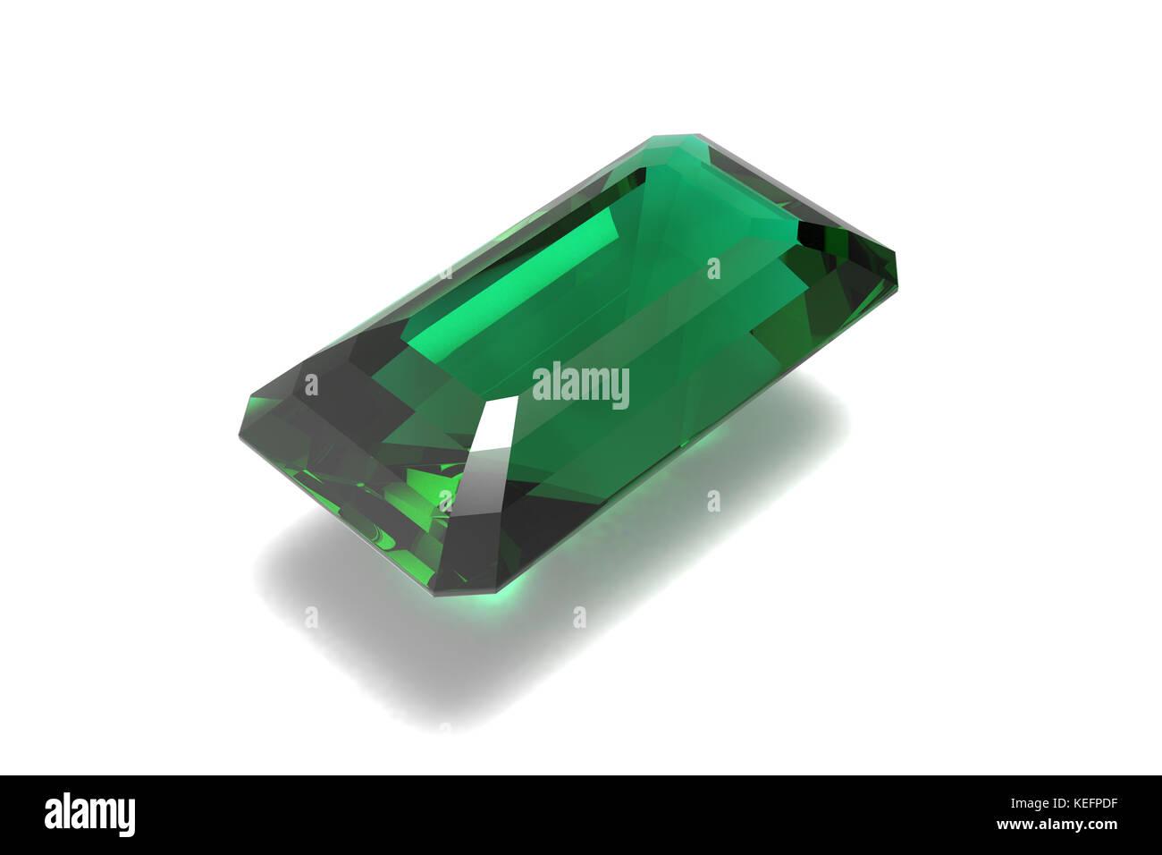 Emerald, Jewel, Gem - Stock Image